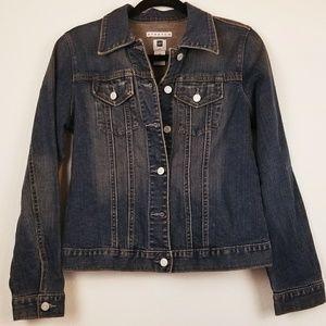 Gap stretch denim jean jacket medium